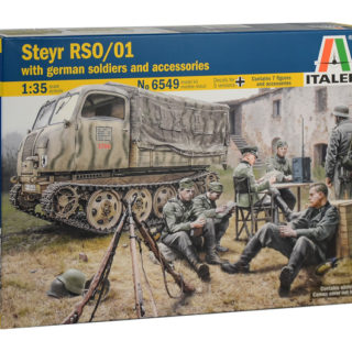Italeri 6549 STEYR RSO/01 WITH GERM. SOLDIERS