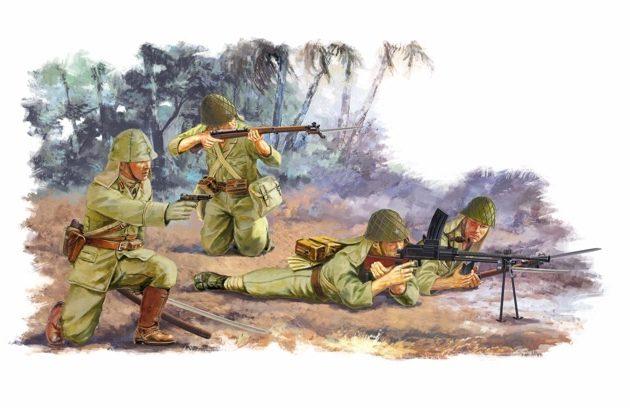 DRAGON 6555 Japanese Infantry Peleliu 1944 Modellismo