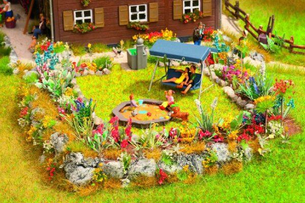 Noch 65604 Set giardino floreale Modellismo