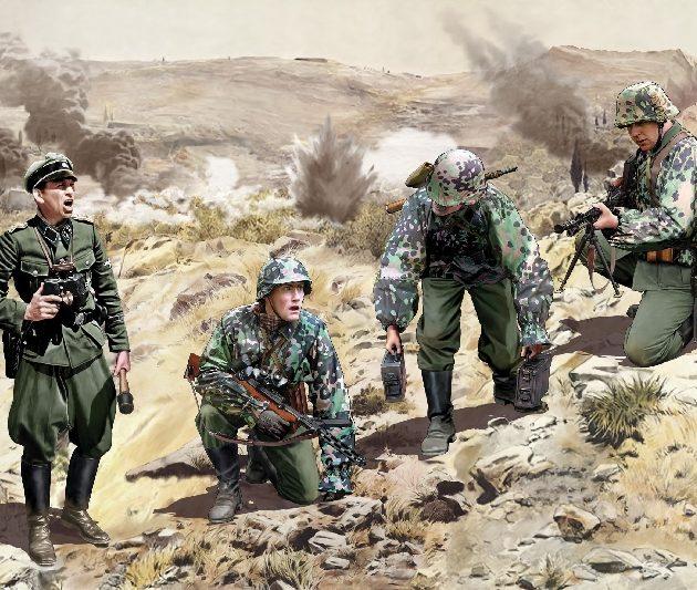 DRAGON 6643 Leibstandarte Ss Kleisoura Pass 1941 Modellismo