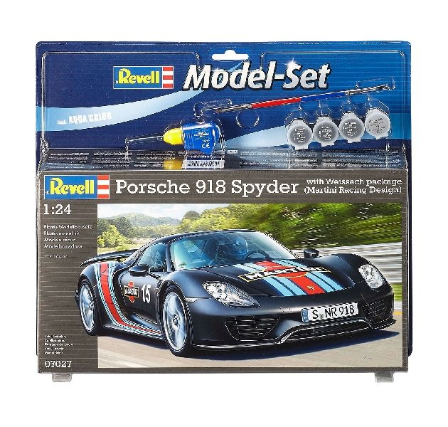 REVELL 67027 Model Set Porsche 918 Weissach Sport - in