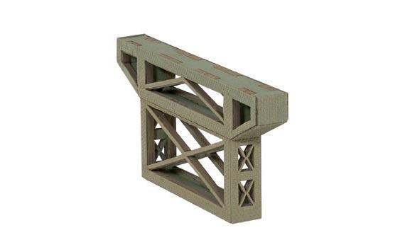 Noch 67031 Laser cut - adattatore pilastro ponte