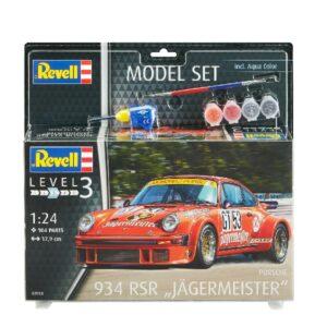 "Revell 67031 MODEL SET PORSCHE 934 RSR ""JÄGERMEISTER"""