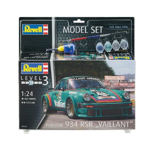 "Revell 67032 MODEL SET PORSCHE 934 RSR ""VAILLANT"""
