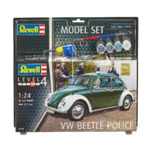 """Revell 67035 MODEL SET VW BEETLE """"POLICE"""""""