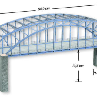 Noch 67042 Ponte ad archi doppio HO