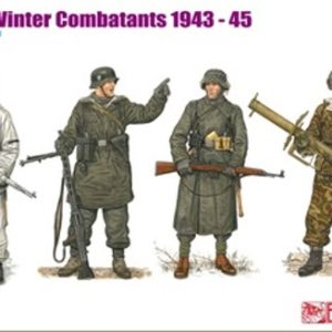 Dragon 6705 GERMAN WINTER COMBATANTS 1943-45 Modellismo
