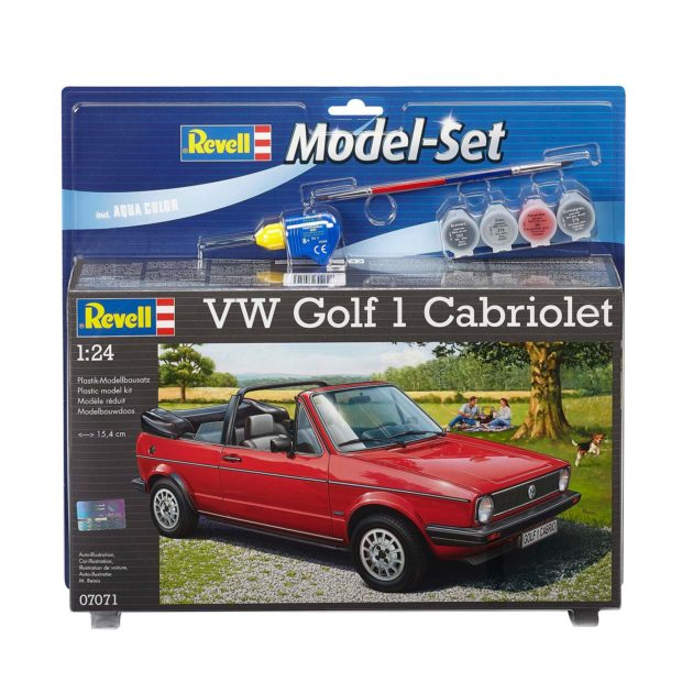 REVELL 67071 Model Set VW Golf 1 Cabrio