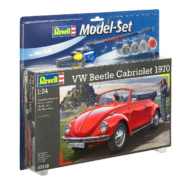 REVELL 67078 Model Set VW Beetle Carbriolet 1970