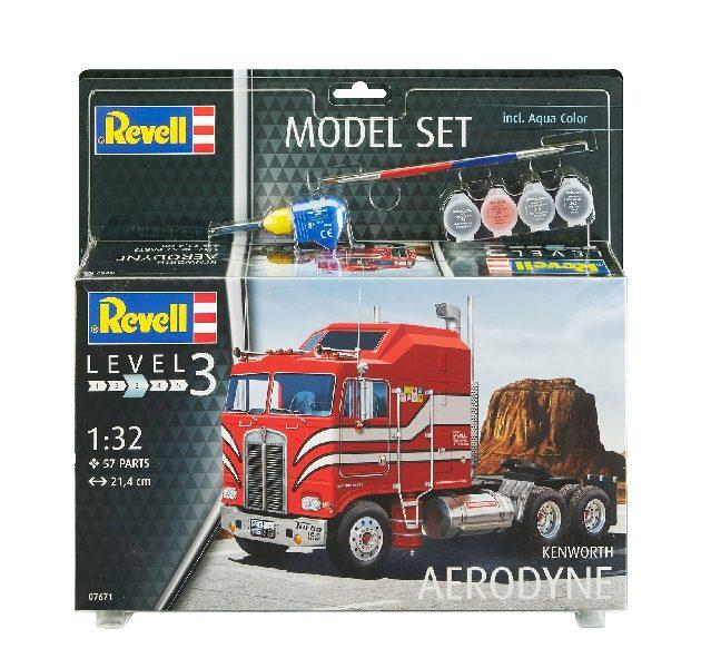 Revell 67671 MODEL SET KENWORTH AERODYNE