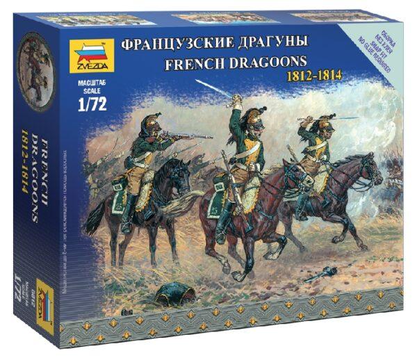 ZVEZDA 6812 French Dragoons