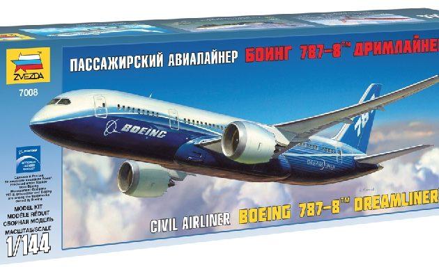 ZVEZDA 7008 Boeing 787-8 Dreamliner