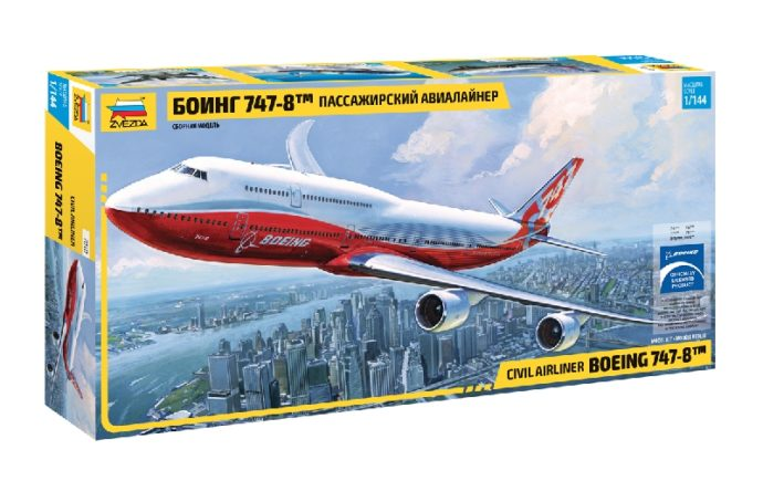 ZVEZDA 7010 Boeing 747-8