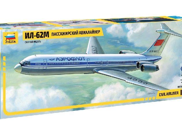 ZVEZDA 7013 Illushin Il - 62m