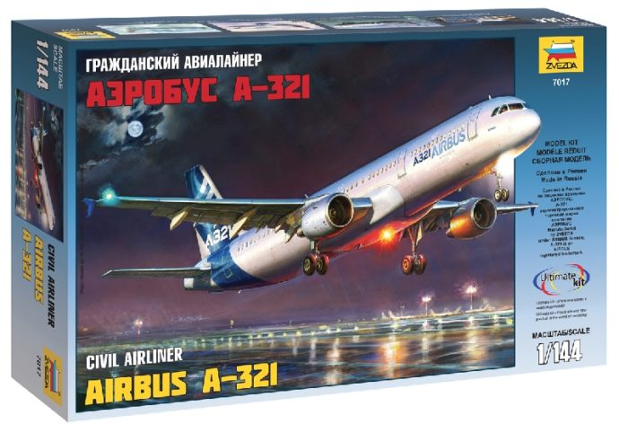 ZVEZDA 7017 Airbus A-321