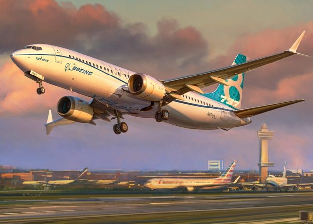 Zvezda 7026 Boeing 737 MAX 8
