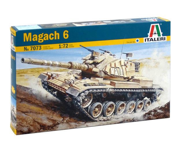 Italeri 7073 Magach 3 Modellismo