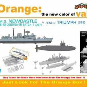 CyberHobby 7106 HMS NEWCASTLE D87 + TRIUMPH S93