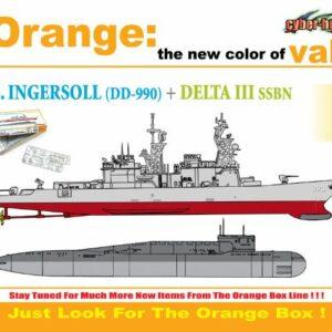 CyberHobby 7114 USS INGERSOLL DD 990 VS DELTA III