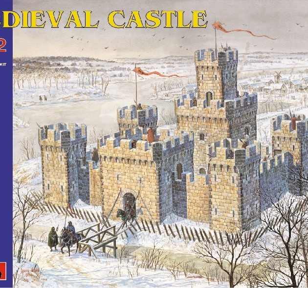 MINIART 72005 Medieval  Castle.  Modellismo