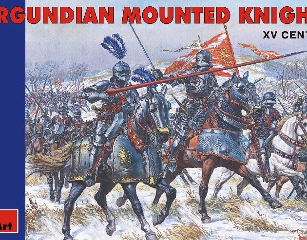MINIART 72006 Burgundian Mounted Knights. Xv C. Modellismo