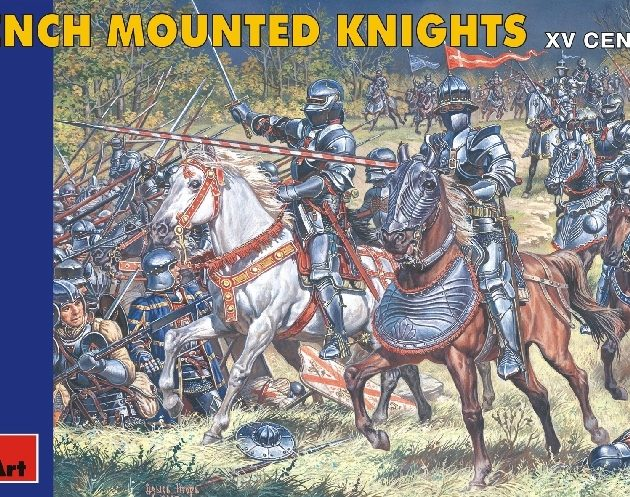 MINIART 72007 French Mounted Knights. Xv C. Modellismo