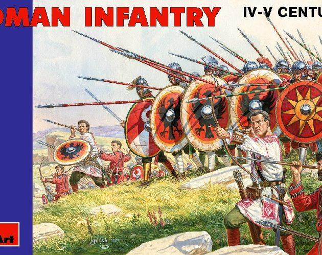 MINIART 72012 Roman Infantry. Iii- Iv Century Modellismo
