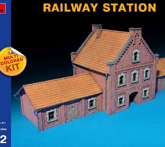 MINIART 72015 Railway Station Modellismo