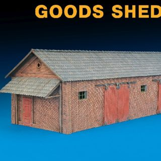 MINIART 72023 Goods Shed