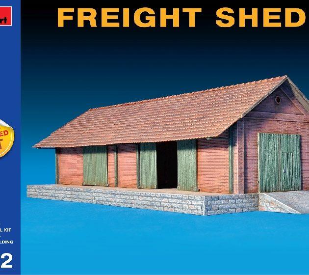 MINIART 72029 Freight Shed Modellismo