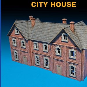 MINIART 72030 City House  Multi Colored Kit
