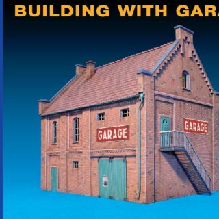 MINIART 72031 Building With Garage