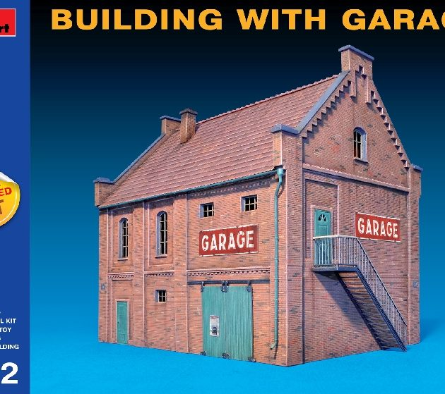 MINIART 72031 Building With Garage Modellismo