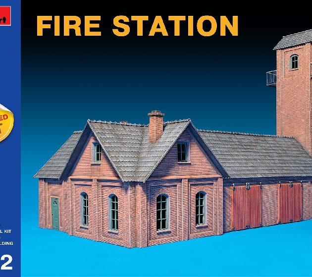 MINIART 72032 Fire Station Modellismo
