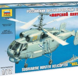 ZVEZDA 7214 Kamov Ka-27 Submarine Hunter Modellismo
