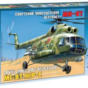 ZVEZDA 7230 Mil Mi-8t Soviet Helicopter Modellismo
