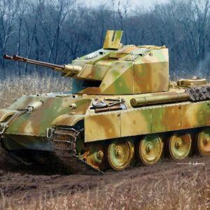 "DRAGON 7236 Flakpanzer V ""Coelian"" Modellismo"