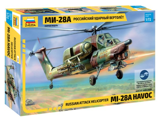 Zvezda 7246 MIL-28A (RE-RELEASE) Modellismo