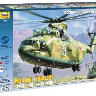 ZVEZDA 7270 Mil Mi-26 Soviet Helicopter Modellismo