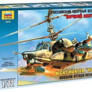 "ZVEZDA 7272 Kamov Ka-50 Sh ""Night Hunter"" Modellismo"