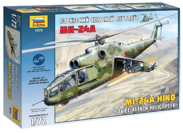 ZVEZDA 7273 Mil Mi-24a Hind Modellismo