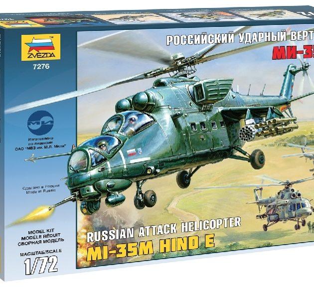 ZVEZDA 7276 Mil Mi-35 Modellismo