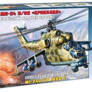 ZVEZDA 7293 Mil Mi-24b Hind C Modellismo