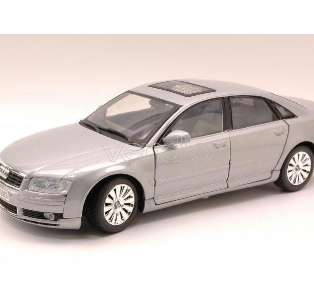 Motormax 73149SL 1:18-Audi A8 met.