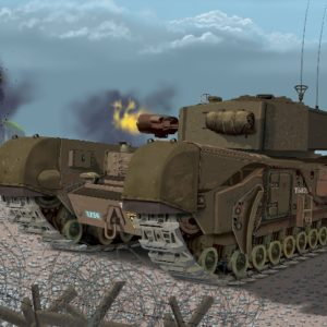 Dragon 7327 CHURCHILL MK III AVRE Modellismo