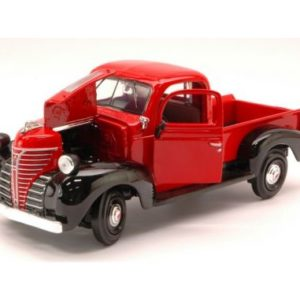 MotorMax 73278RD Plymouth 1941 truck rossa< Modellismo