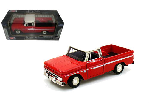 MotorMax 73355RD 1966 Chevy C10 Fleetside Pickup