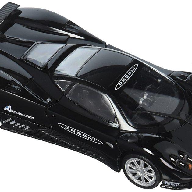 Motormax 73370BK 1:24-Pagani Zonda F Nurburgring nera Modellismo