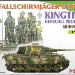 Dragon 7362 3RD FJ DIV W/KINGTIGER PART 2 Modellismo