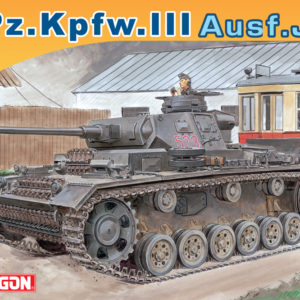 DRAGON 7372 Pz.Kpfw.Iii Ausf.J Late Production Modellismo